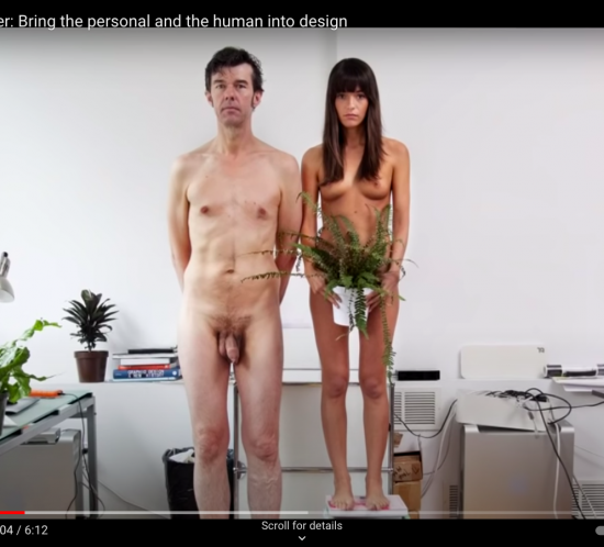 Stefan Sagmeister: Bring the personal and the human into design