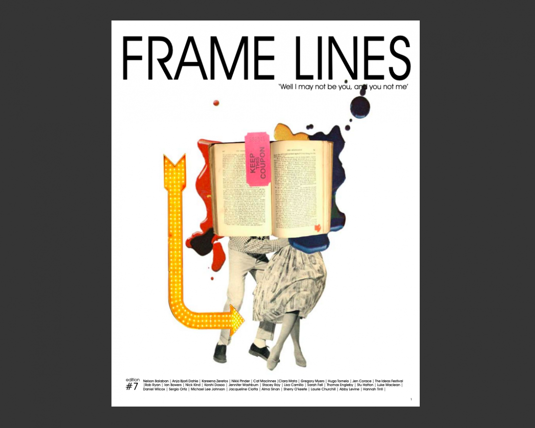Frame lines magazine, edition 7