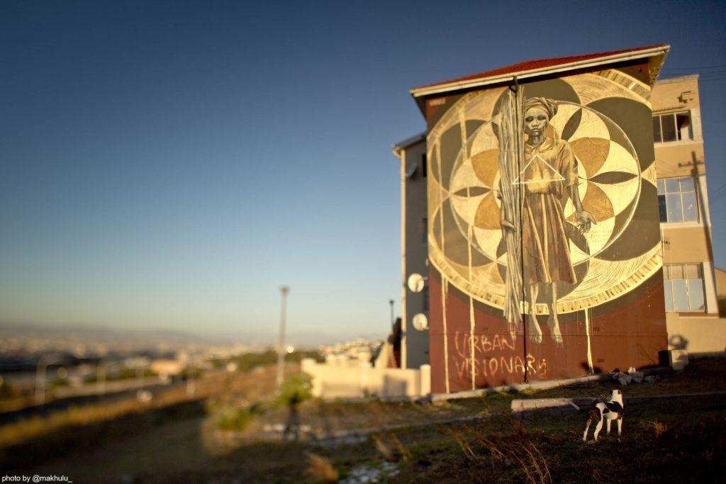 Harvest mural for Anotherlightup by Faith47, photo Rowan Pybus