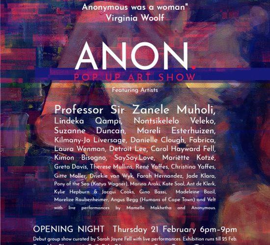 ANON. 01 exhibition poster
