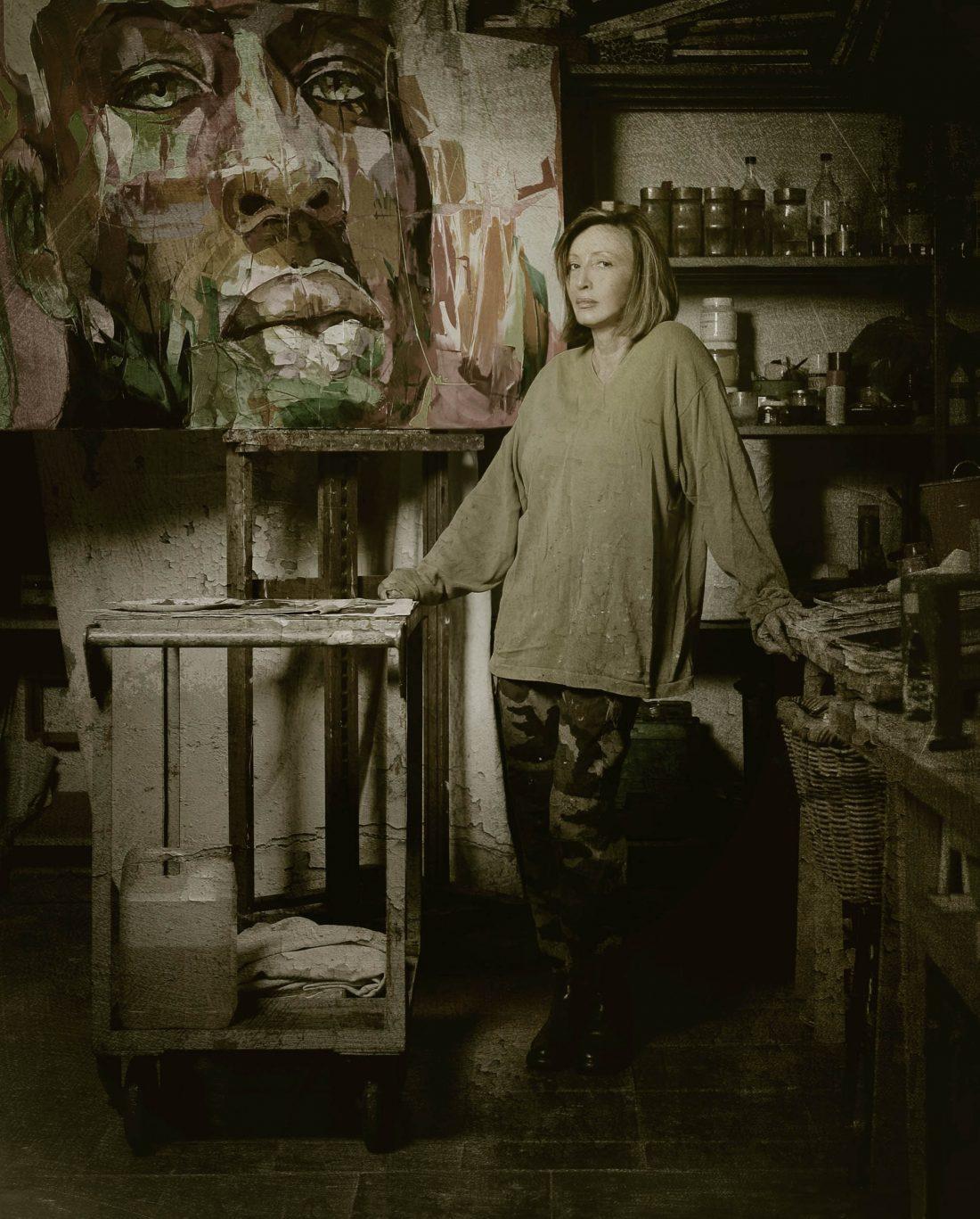 Francoise Nielly, portrait